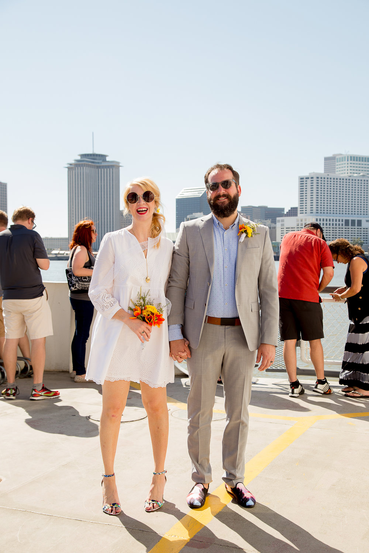 Moira Loves Alex:                    Eloped in New Orleans