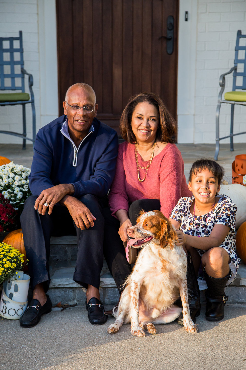 Gilliam Family, Fall Portrait