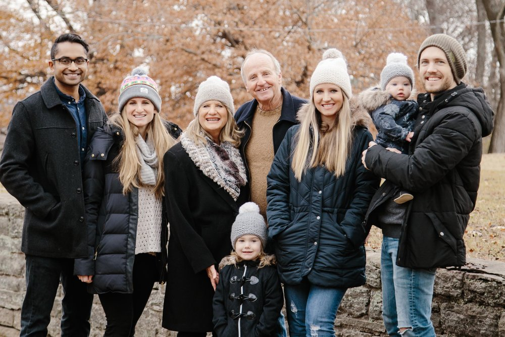 Malone Family Winter Portaits