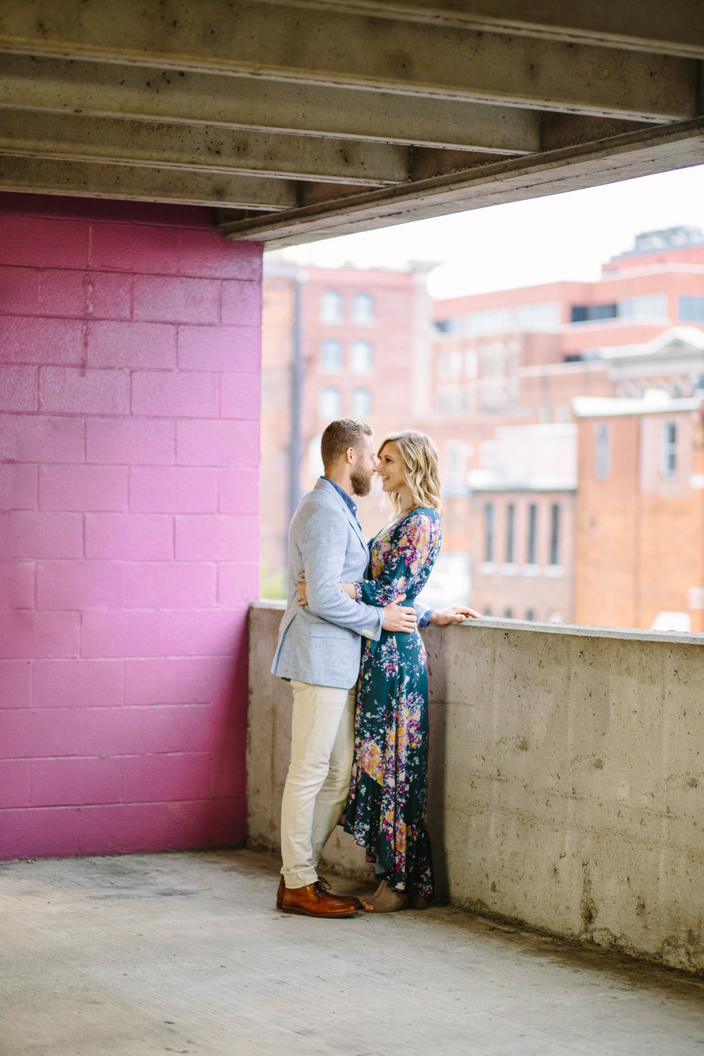 Brittany and Josh Downtown Nashville Engagement Session--2.jpg