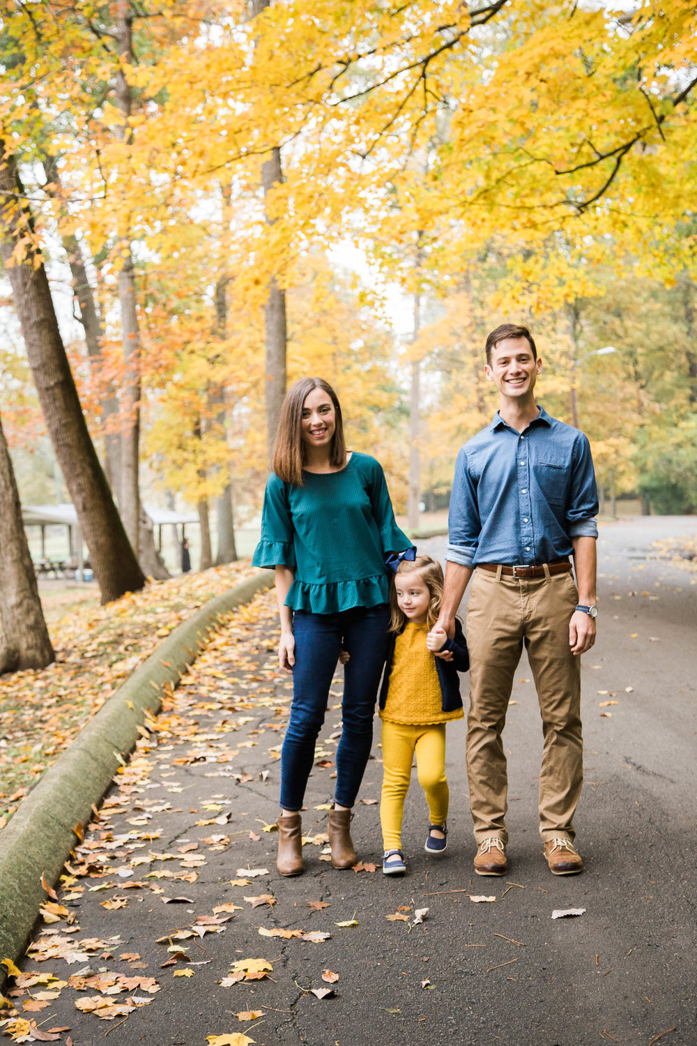 Batty Family, Fall Portraits