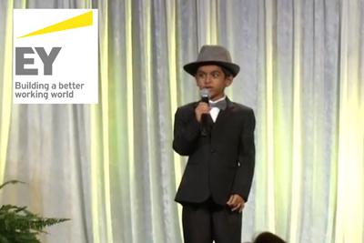 Speaking at the 2014 Ernst & Young Entrepreneur Awards