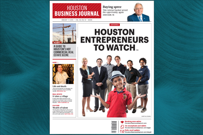 August 1, 2014: Houston Business Journal Cover Story
