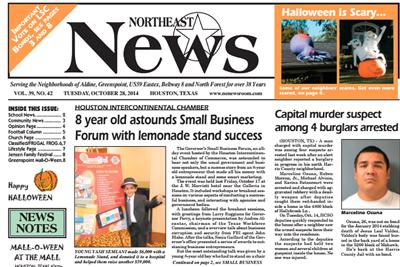 October 28, 2014: Northeast News Interview