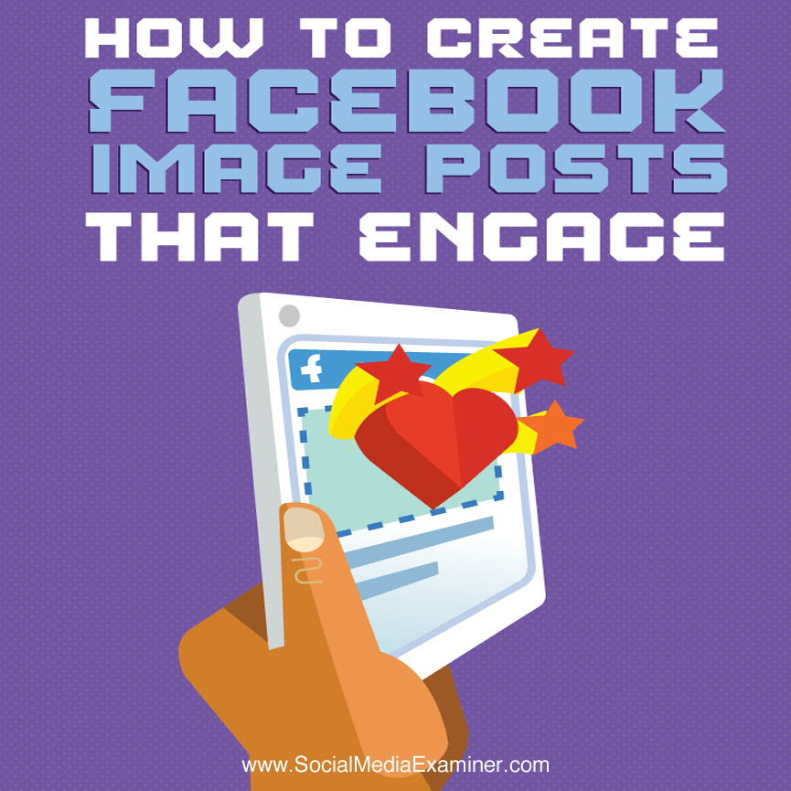 Read this article by Dan Slagen now: http://bit.ly/1M46N0m Do you use images in your Facebook marketing? Are your image posts performing as well as you'd like? While targeting, relevancy and timing play significant roles in the success of Facebook campaigns, the right image is key to improving engagement. Click here to discover how to improve the performance of your Facebook image posts: http://bit.ly/1M46N0m -Kim #facebookmarketing #visualcontent #smexaminer https://plus.google.com/+AlejandroFranceschi/posts/ES8zDBrcngD