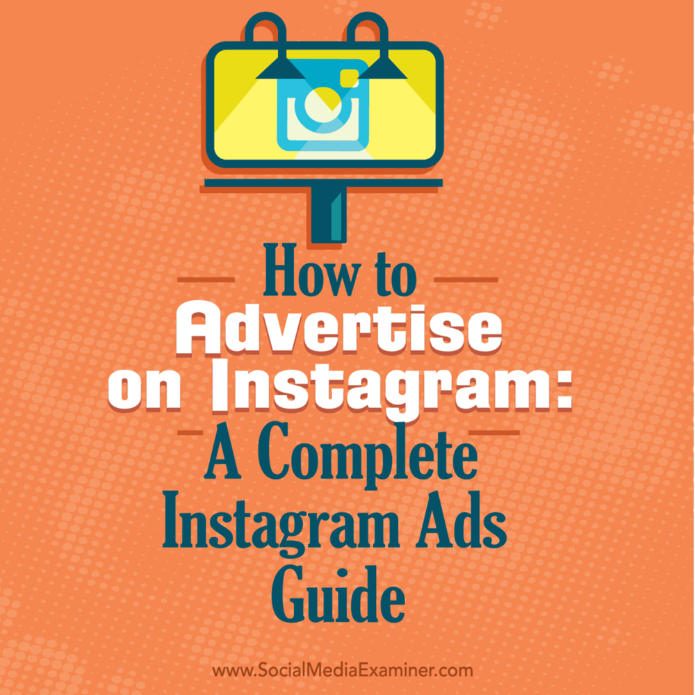 Read this new article by Kristi Hines now :  http://bit.ly/1S1KhKj   Are you wondering how to start advertising on Instagram? Looking for a step-by-step Instagram guide?  Businesses of all sizes now have the ability to create Instagram ads to reach targeted audiences.  Click here to discover  how to set up an Instagram ad from start to finish using Facebook Business Manager and Power Editor :  http://bit.ly/1S1KhKj   -Kim  #powereditor #instagramads #smexaminer   https://plus.google.com/+AlejandroFranceschi/posts/6PiYsaegDwg