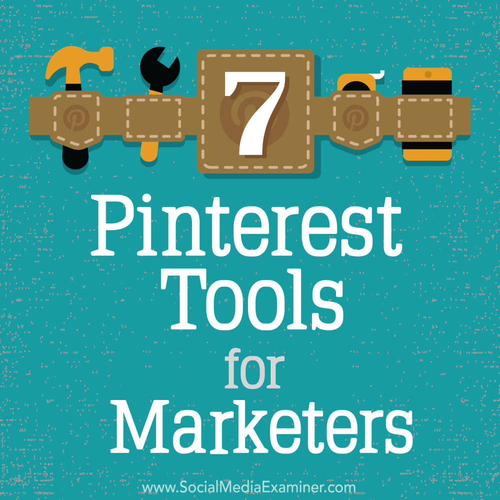 Read this fan favorite content by Kristi Hines now :  http://bit.ly/1Lcx2Eu   Do you use Pinterest for your business? Looking for time-saving tools?  Many tools and services can streamline the way you find and pin content to Pinterest.  Click this link to discover  seven Pinterest tools for marketers :  http://bit.ly/1Lcx2Eu   -Kim  #pinterestmarketing #socialmediatools #smexaminer   https://plus.google.com/+AlejandroFranceschi/posts/NFmvwrgLAE6