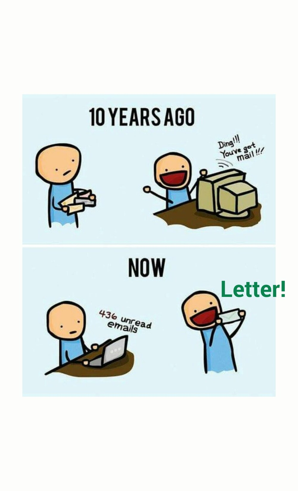 We didn't know how good we had it then.. Hehehhh ✉ x 📧 😝 Good night ! 😉 #funny #technology #funnypictures #goodnight https://plus.google.com/+AlejandroFranceschi/posts/Hw6BNx2nUeh