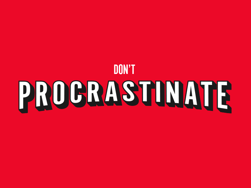 visualgraphc :     Don't Procrastinate