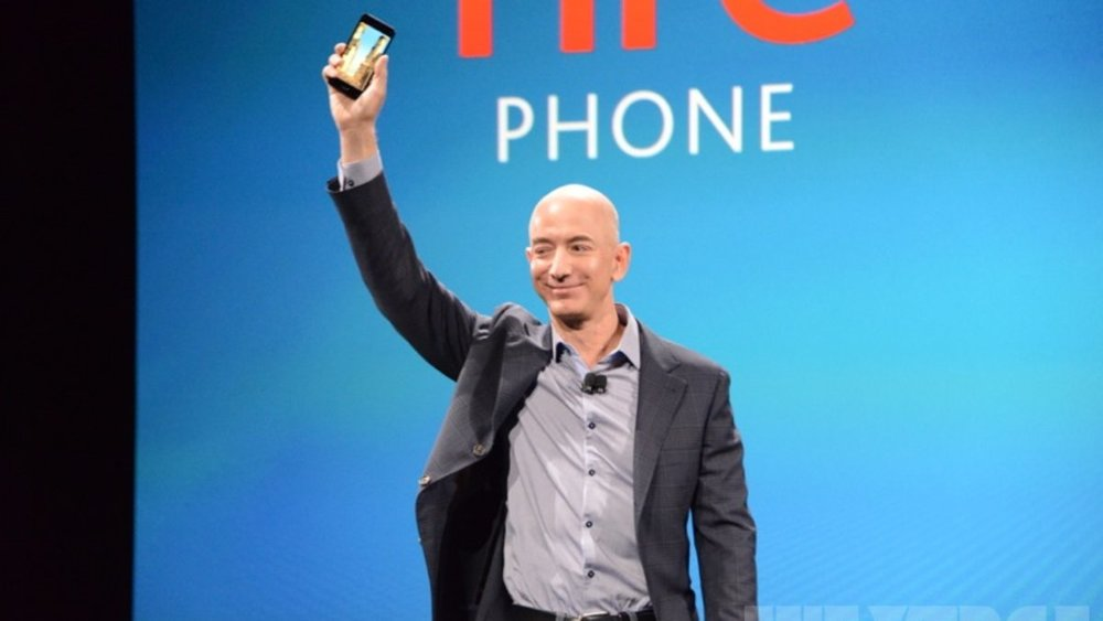 Here is the #Amazon #Smartphone aka #FirePhone | Photo via #TheVerge  http://www.theverge.com/2014/6/18/5819516/meet-the-fire-phone  |  #Mobile #Tech #Geek  http://ow.ly/i/5X5TW    http://click-to-read-mo.re/p/7IOT/53413f12