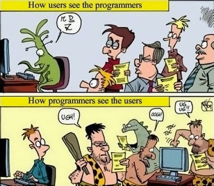 We have some talented programmers here at the Digital Ranch…and we promise they won't treat you like cavemen…as long as you don't treat them like aliens. #programmers #customsoftware   http://click-to-read-mo.re/p/70Rm
