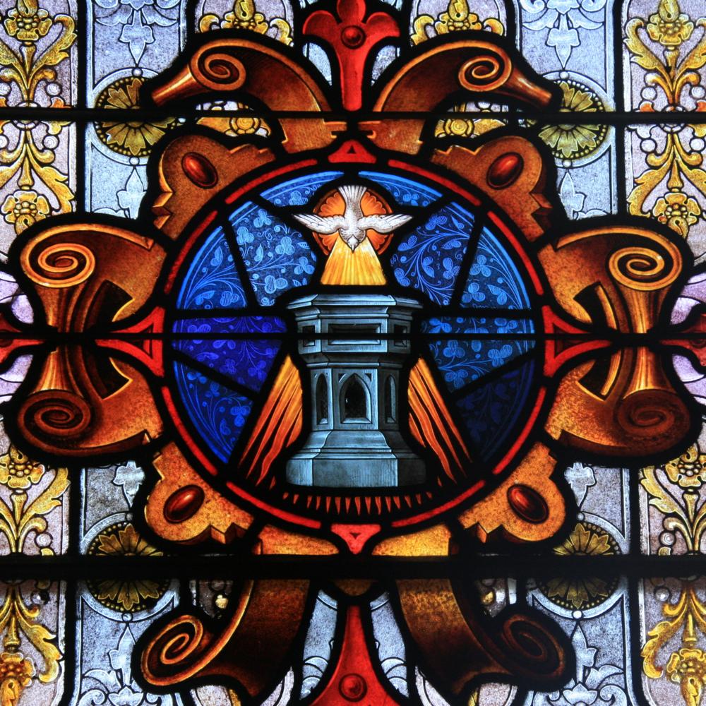 St. A Window Baptism