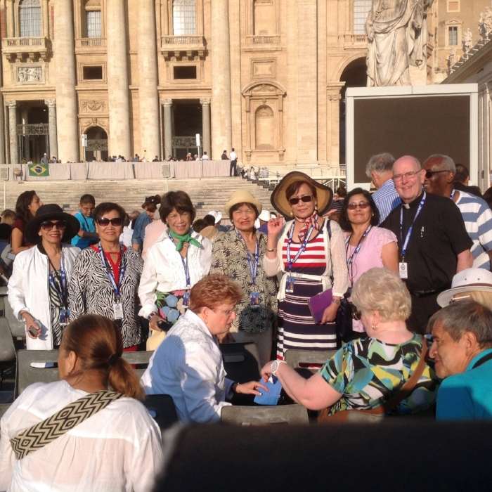 Wednesday audience with Pope Francis, Vatican City, Italy