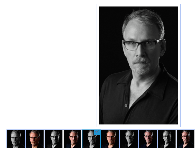 Guy Tomassi Headshot  selection Gary Glaser