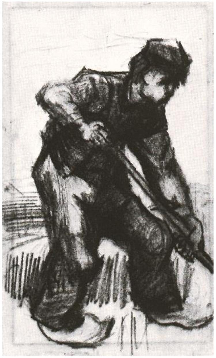 Peasant,-Digging