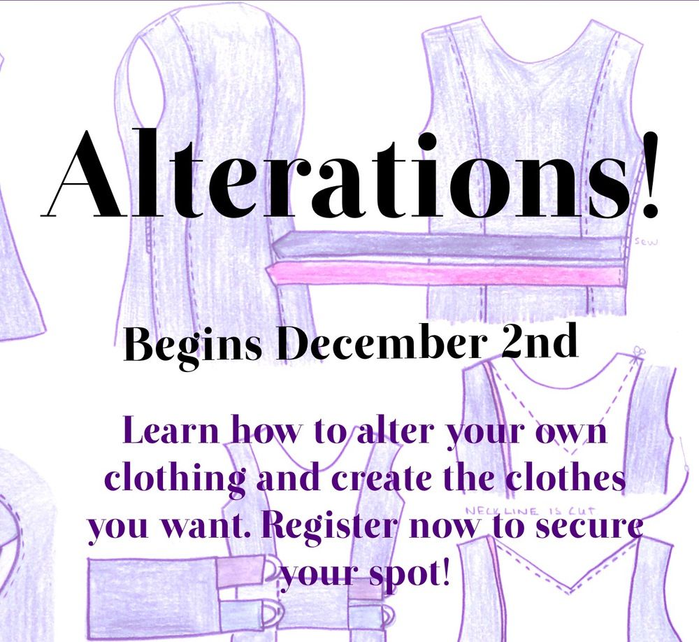 Fair Fit Alterations Class