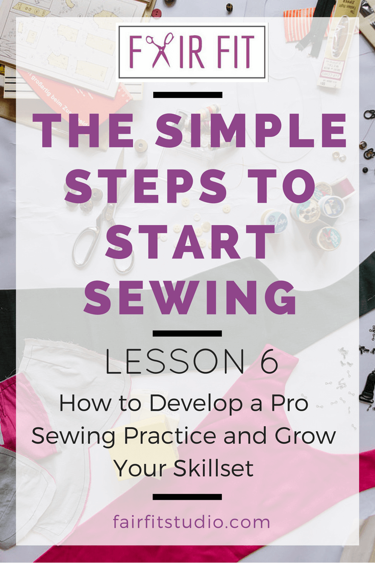 In this lesson, I'll walk you through pro level practice tips from professional artists and educators. Click through to read, and download the free 15 Day Studio Sewing Diary that will help you learn as you go, and avoid getting stuck in your sewing.