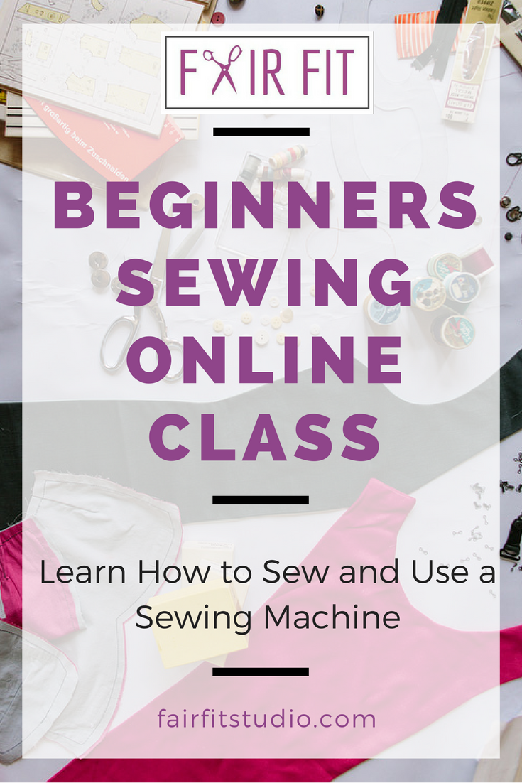 Do you have a sewing machine just sitting in the closet, maybe still in the box, because you don't know how to use it?