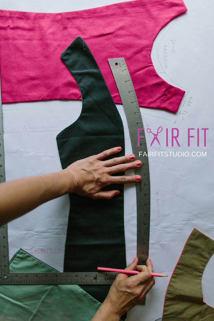 Today I want to share with you some principles and initial steps to take in the beginning with your sewing pattern that will help you avoid sewing up a garment that doesn't fit. In this article, you will learn how to measure the pieces of your pattern, before you cut it, to increase your likely hood of a successfully sewn garment.