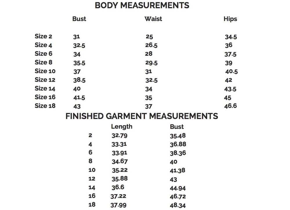 fairfit-raglandress-measurements