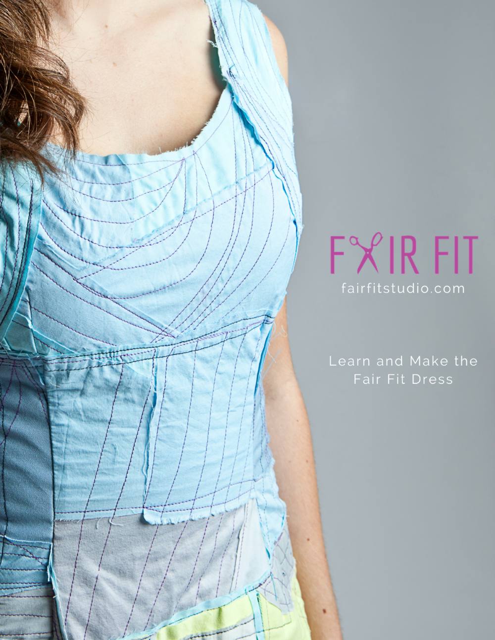 The proportion of your garment is critical to how it fits. In this post, learn how the Fair Fit Pattern teaches you to customize the pattern using draping to identify your body's unique proportions.
