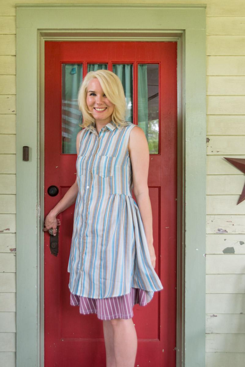 ME MADE MAY DAY 8 - GRAINLINE STUDIO ALDER SHIRT DRESS