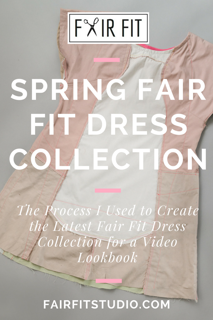 The Process I used to Create the Latest Fair Fit Dress Collection