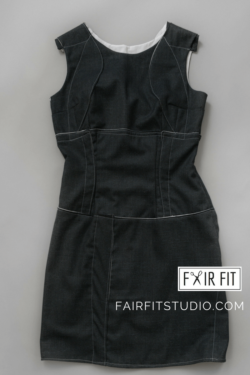Fair Fit Spring/Summer Dress Collection - How I Designed Dress 3 and 4