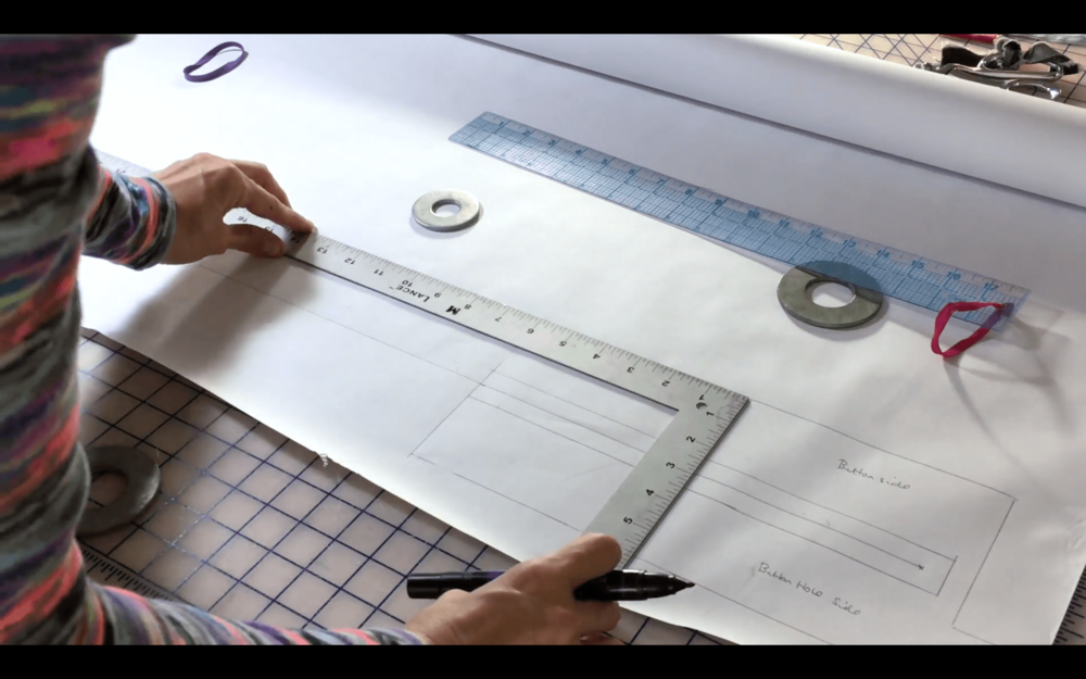 The Fair Fit Method - Pattern Drafting 101 - How to Customize a Shirt Placket Pattern
