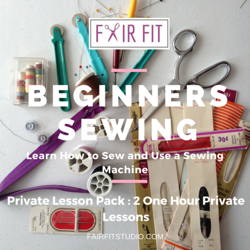Beginner Sewing Private Lesson Pack Learn How To Sew And Use A Custom Using A Sewing Machine For Beginners