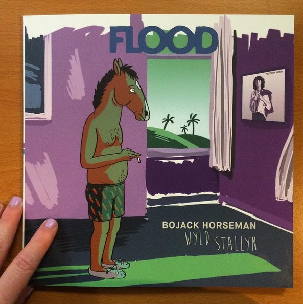Bojack Horseman Cover for FLOOD Magazine