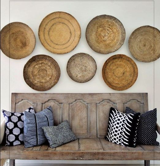 Wall Baskets Decor home decor: basket wall — african wedding guide