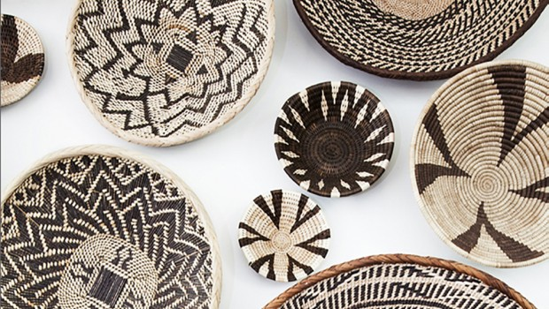 Decorative Wall Baskets home decor: basket wall — african wedding guide