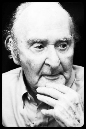 Cyril Parfitt - Deep in thought at the age of 96
