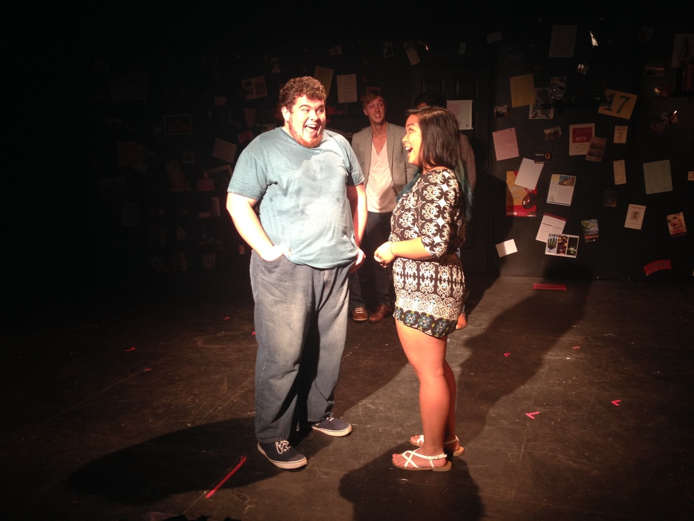me being so0o0o0o0o devestated that I was pulled onstage, like how dare he