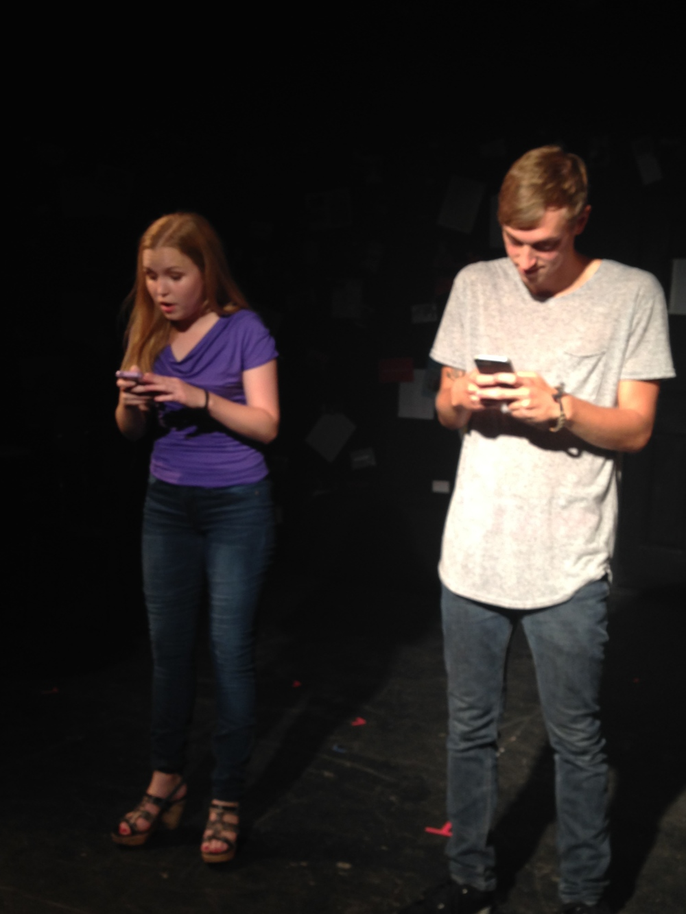 "Megan Kalberer and Ryan Gaynor in ""Coasting"""