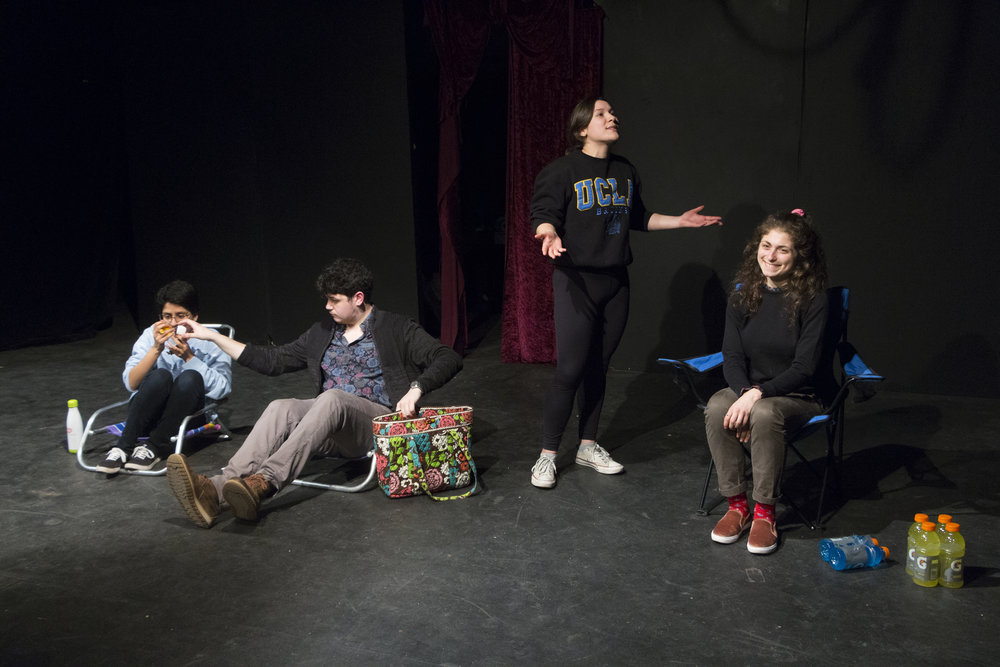 Madhu Murali, Chris Michael, Abby Weinick, Francesca Petrucci