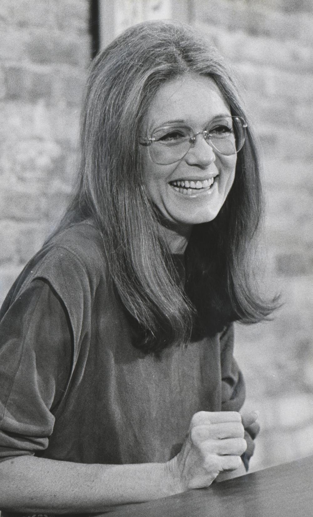 GLORIA STEINEM, 1983