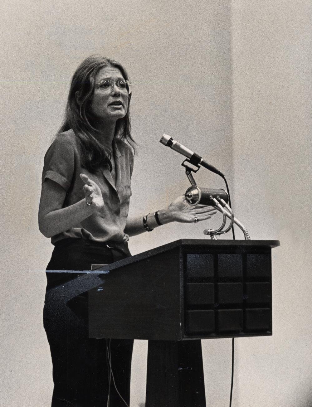 GLORIA STEINEM, 1981