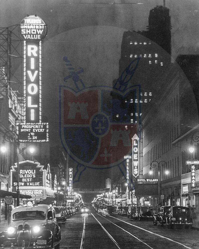 ST. CLAIR STREET, 1937