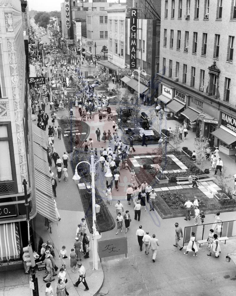 DOWNTOWN PEDESTRIAN MALL, 1959