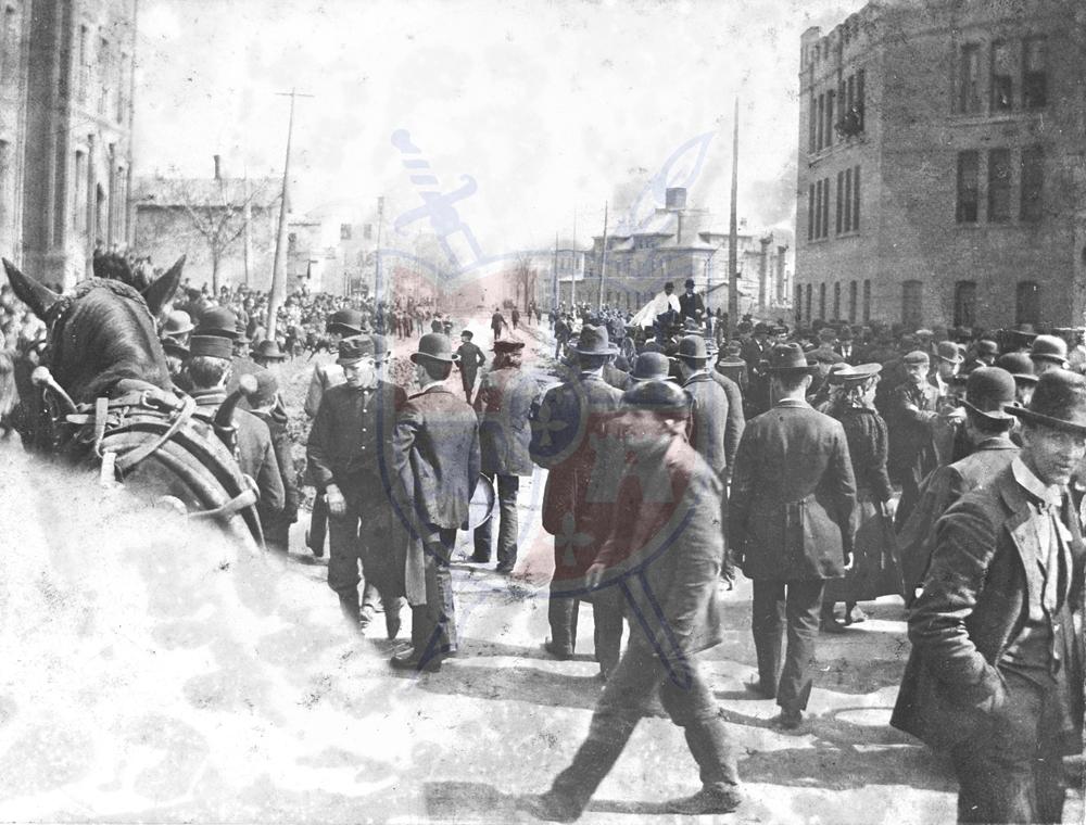 DOWNTOWN TOLEDO, 1898
