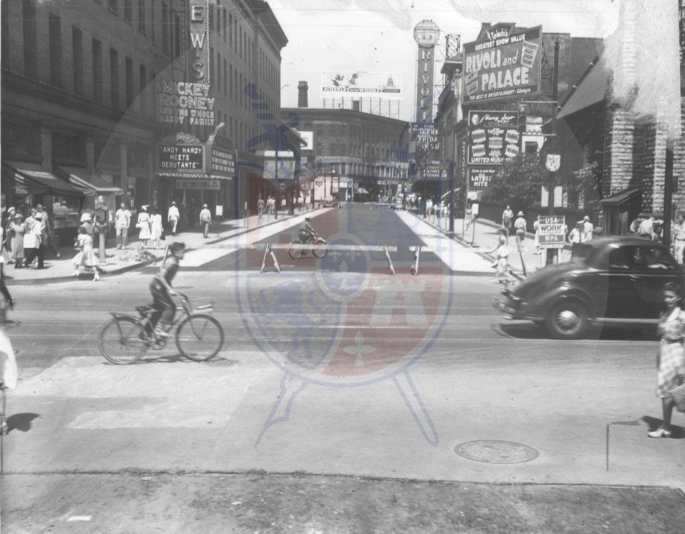 ST. CLAIR STREET, 1940