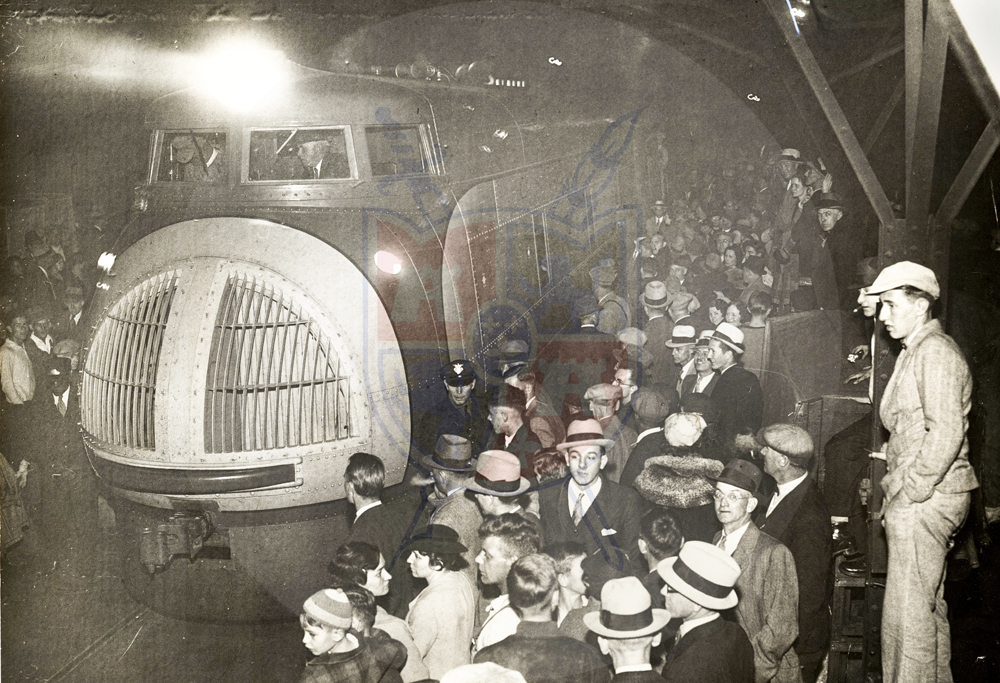 BULLET TRAIN, 1934