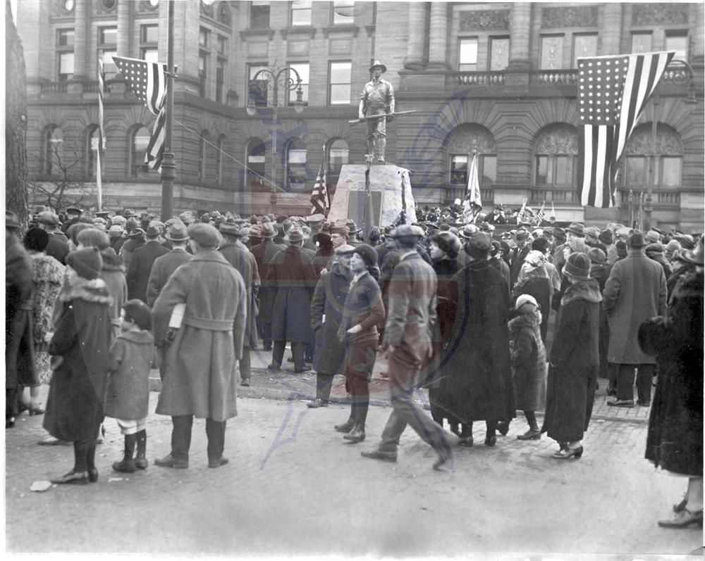 SPANISH AMERICAN WAR MEMORIAL, 1925