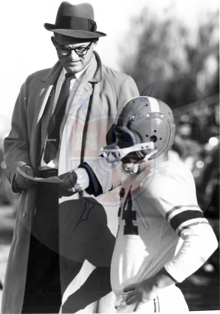 BG COACH DOYT PERRY, 1957