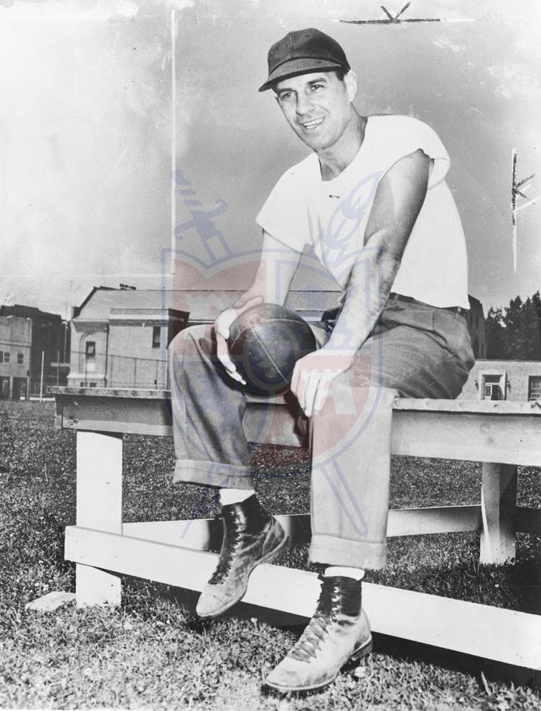 CACH PAUL BROWN at BG, 1948