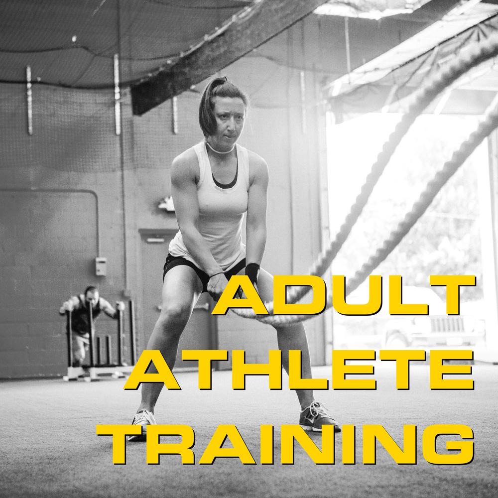 Adult Athlete Training