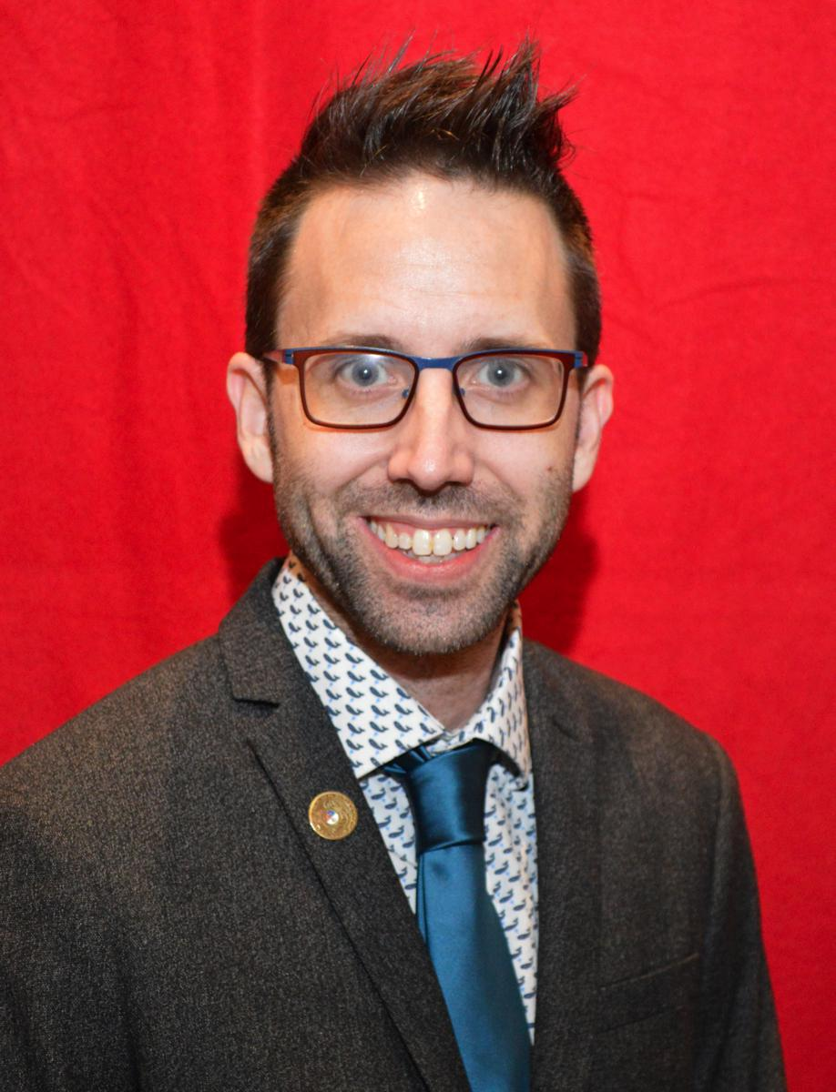 Dustin Ward - President, Historian Co-Chair