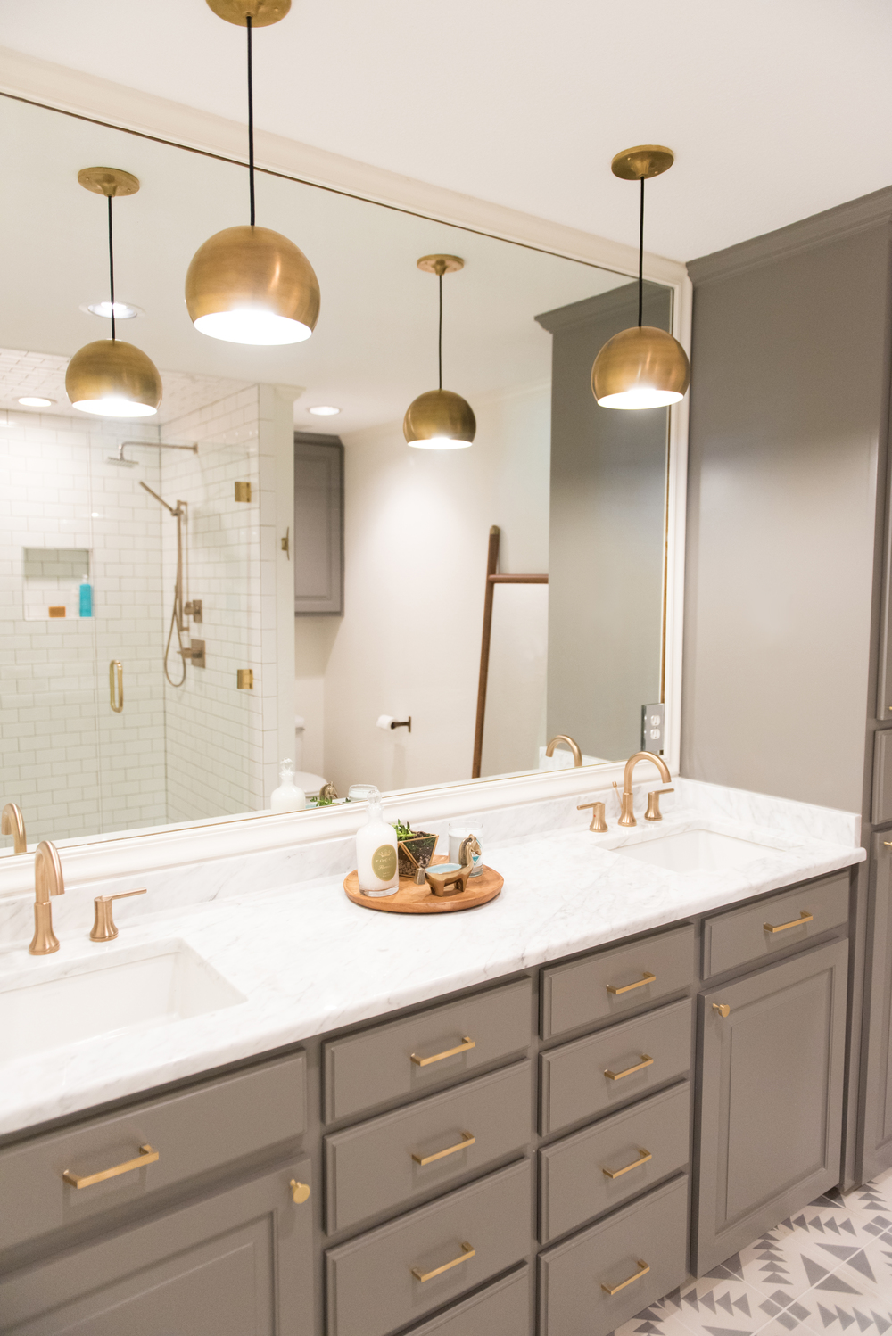 Photos by  Matt and Julie Weddings  |  Hardware  |  Lighting  |  Sink Faucet  |  Shower Head  |  Tile  |  Paint